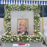 Last Journey to Dr H L Trivedi - 2-10-2019