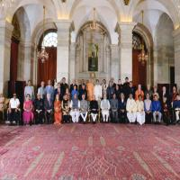 "Prof. H. L. Trivedi Honored With ""Padmashri"""